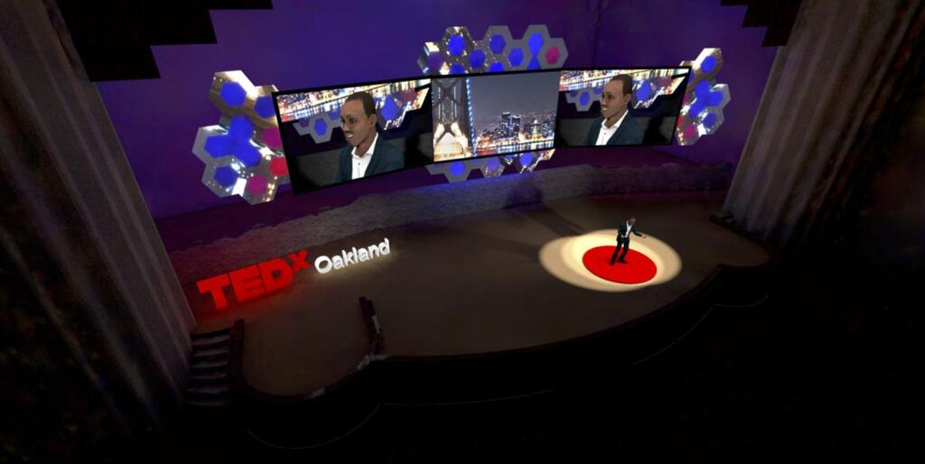CAD stage design rendering Repertoire Productions SF bay area silicon valley av company san francisco livestream ted talks tedtalks tedx ted X